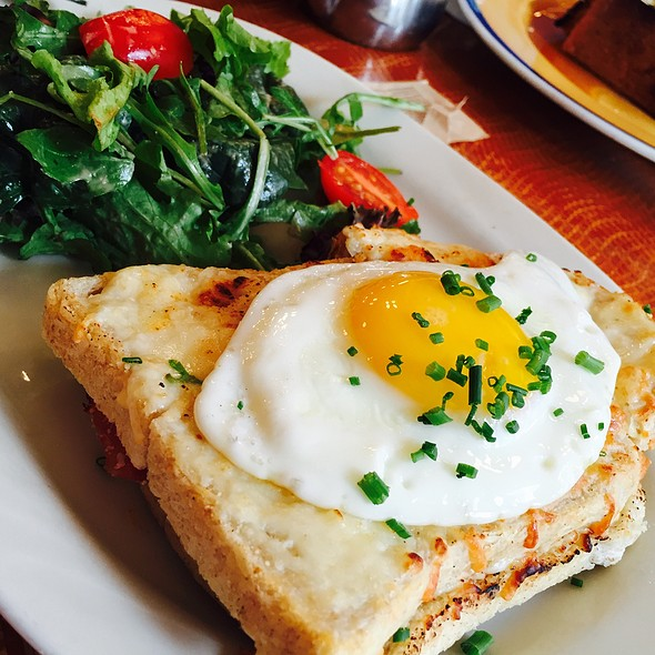 Le Croque Madame - Cafe Du Soleil, New York, NY