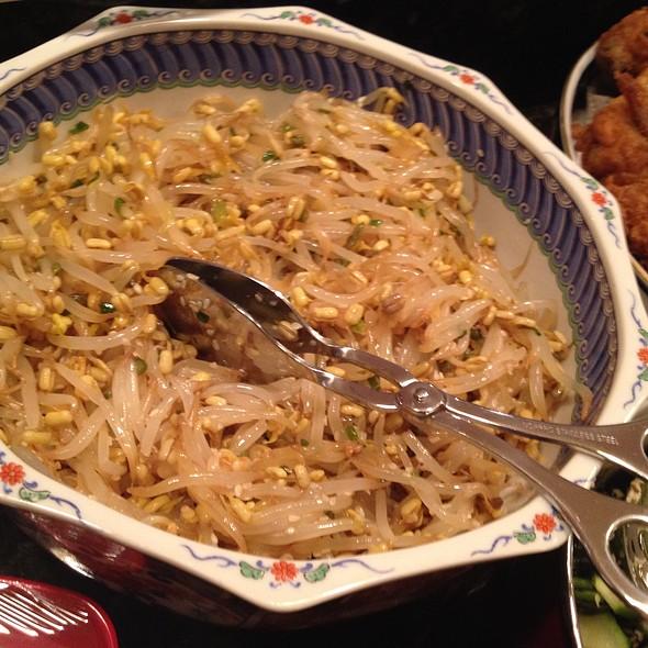 Korean Bean Sprouts Side @ Chez Eric