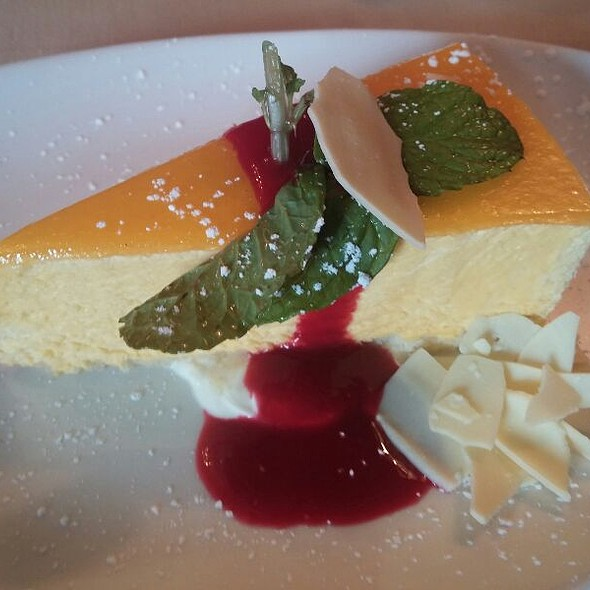Mango Mousse Cake - Bistro Cacao, Washington, DC
