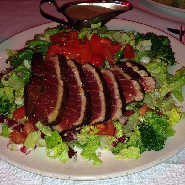 Chopped Salad With Seared Ahi Tuna - City Oyster & Sushi Bar, Delray Beach, FL