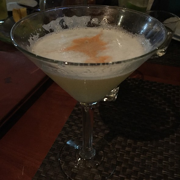 Pisco Sour @ Jaguar Ceviche Spoon Bar & Latam Grill
