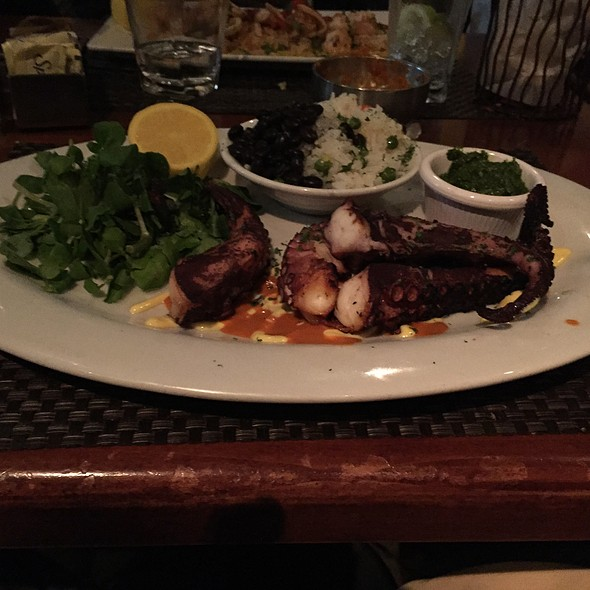 Grilled Octopus @ Jaguar Ceviche Spoon Bar & Latam Grill