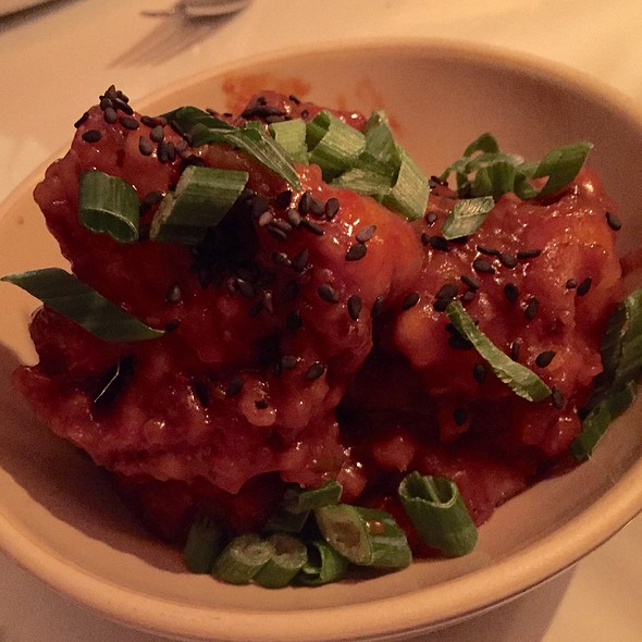Manchurian Cauliflower at Narcissa