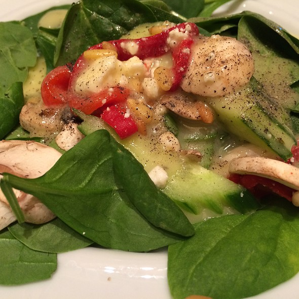Baby Spinach Salad with Feta  - The Cafe - Diplomat Resort & Spa, Hollywood, Hollywood, FL