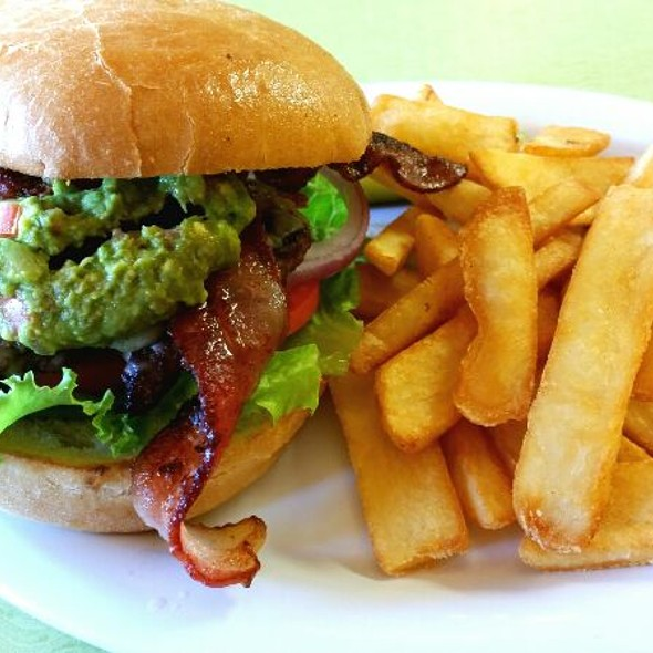 Guacamole Burger With Bacon @ Chewy's