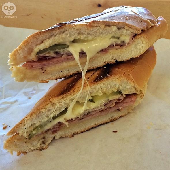 Cuban Sandwich @ Black Bean Deli