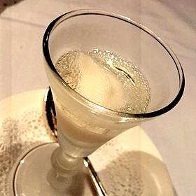 Lemon Sorbet With Champagne