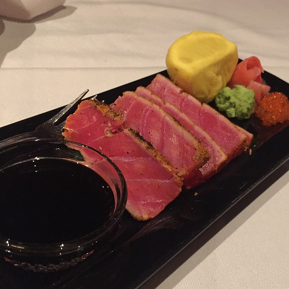 Seared Rare Ahi Tuna - The Steakhouse at Harrah's - Harrah's Reno, Reno, NV