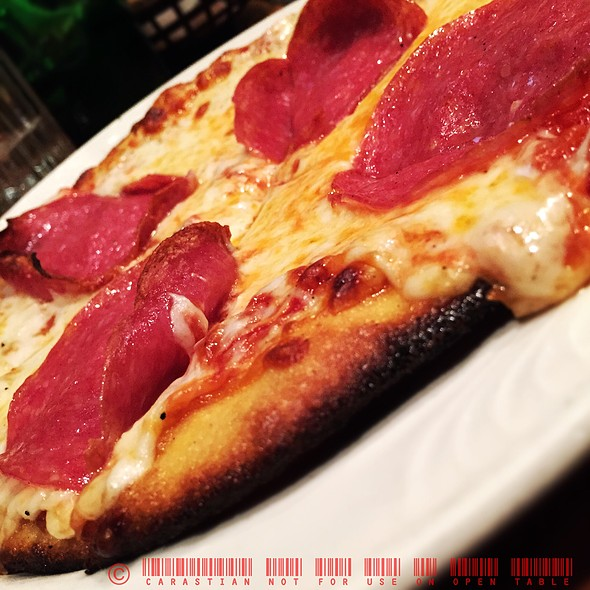 Salami pizza - Bilbo Baggins, Alexandria, VA