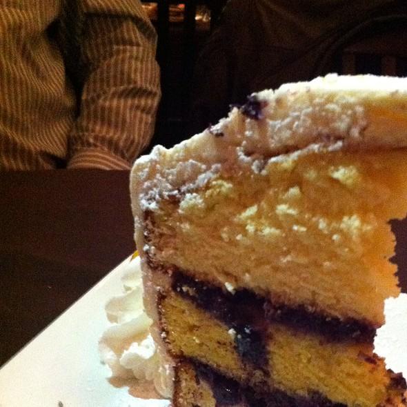 Lemon Blueberry Cake @ Olive Branch