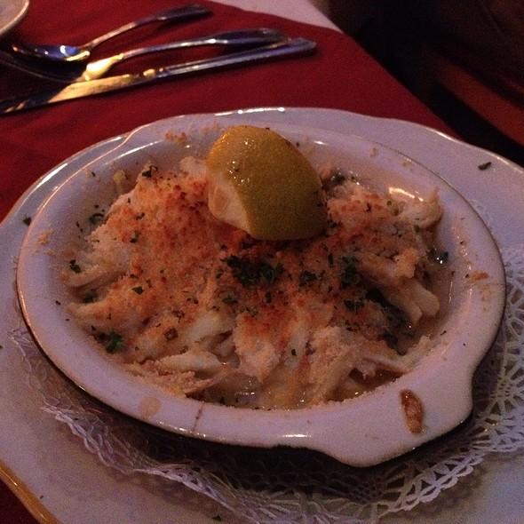 Jumbo Lump Crabmeat & Shrimp Parma - Vincent's Italian Cuisine - Uptown New Orleans, New Orleans, LA