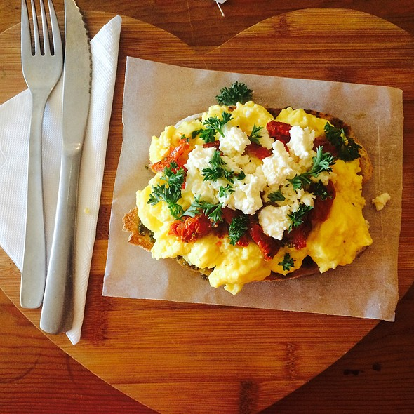 Scrambled Eggs @ Slow Life