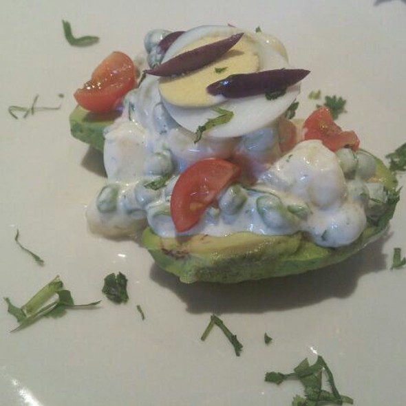Baked Avocados With Eggs @ Inca's Grill