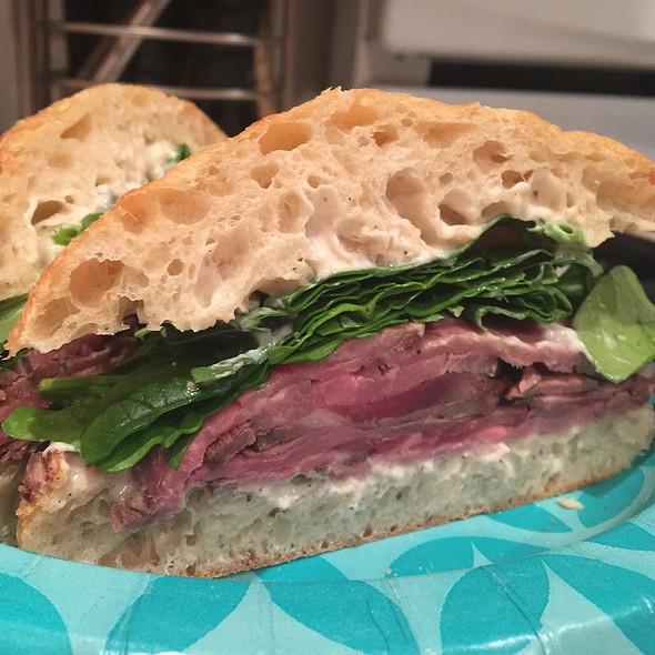 Filet & Ribeye Steak Sandwich @ Home