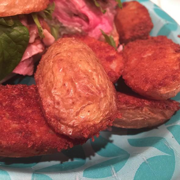 Parmesan Potatoes @ Home