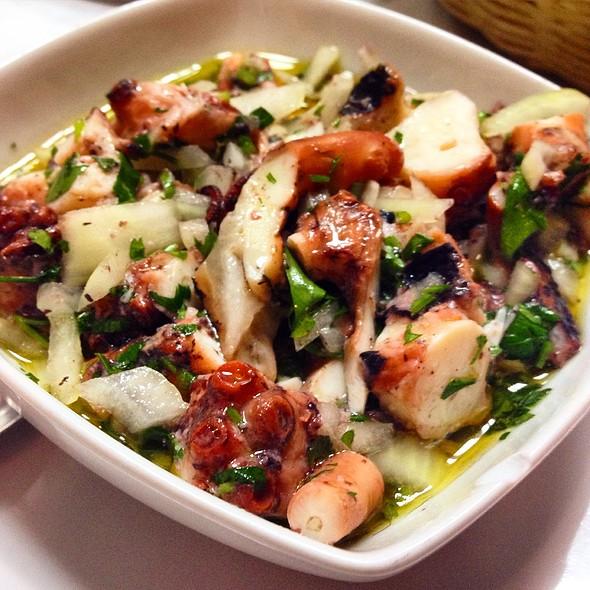Octopus Salad @ Restaurante Sem Palavras