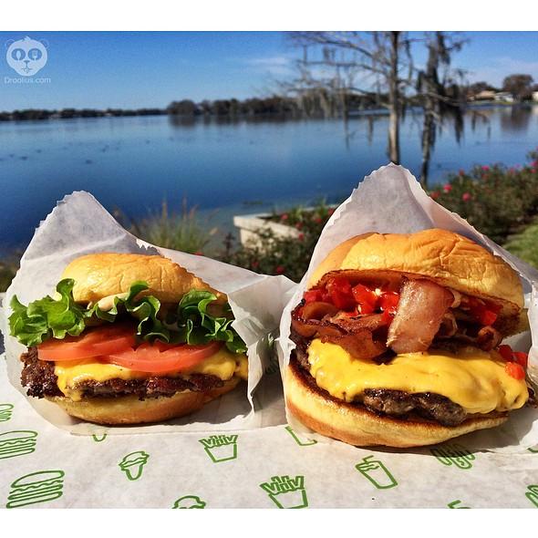 Burgers @ Shake Shack