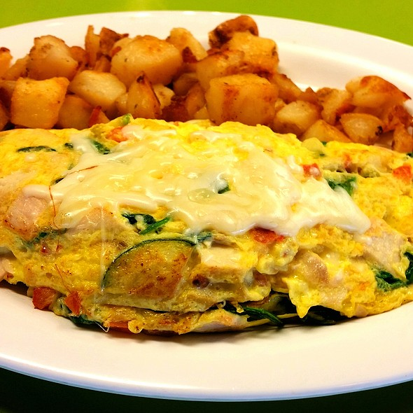 Vegetarian Omelette @ Chewy's