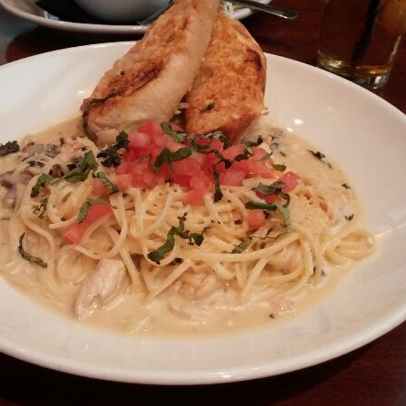 Garlic Chicken Alfredo @ Elephant Bar
