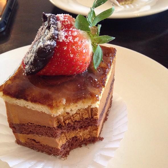 Caramel Mousse Cake @ Sage French Cake & Coffee