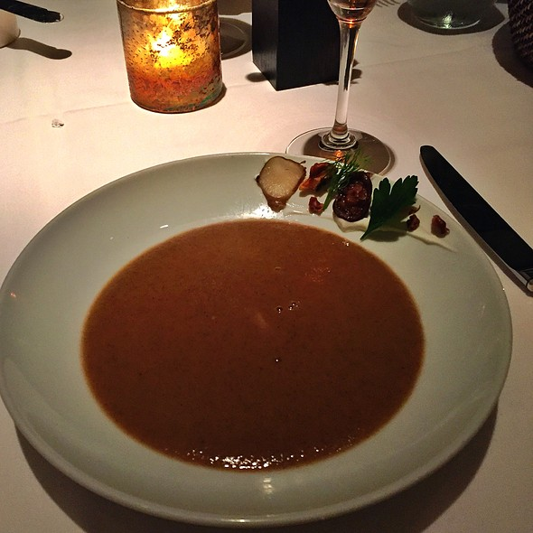 Roasted Sunchoke Soup @ Press St. Helena