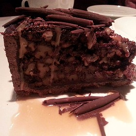 Chocolate Walnut Turtle Cake - Fleming's Steakhouse - Tyson's Corner, Tysons Corner, VA