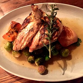Chicken with Seasonal Vegetables