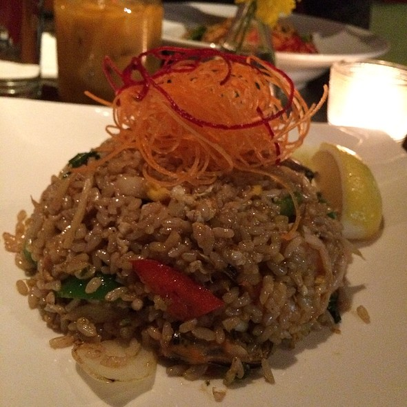 Combination Seafood Fried Brown Rice