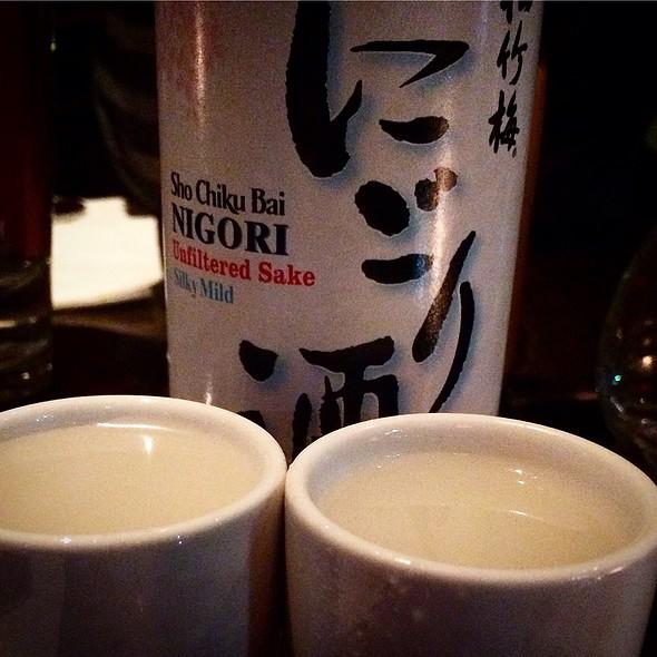 Sho Chiku Bai Nigori - Unfiltered Cold Sake