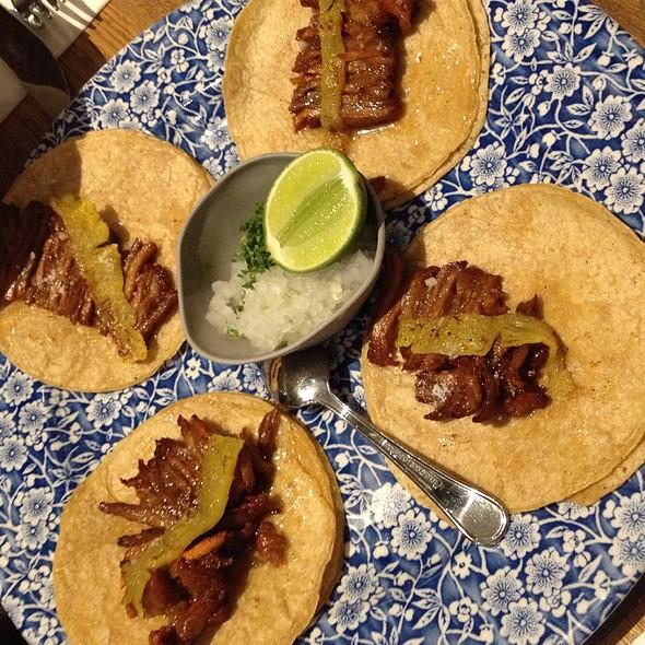 Beef Tacos @ El Mero Mero