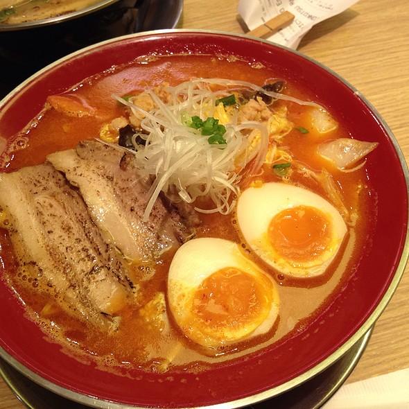 Spicy Miso Ramen @ Sanpoutei