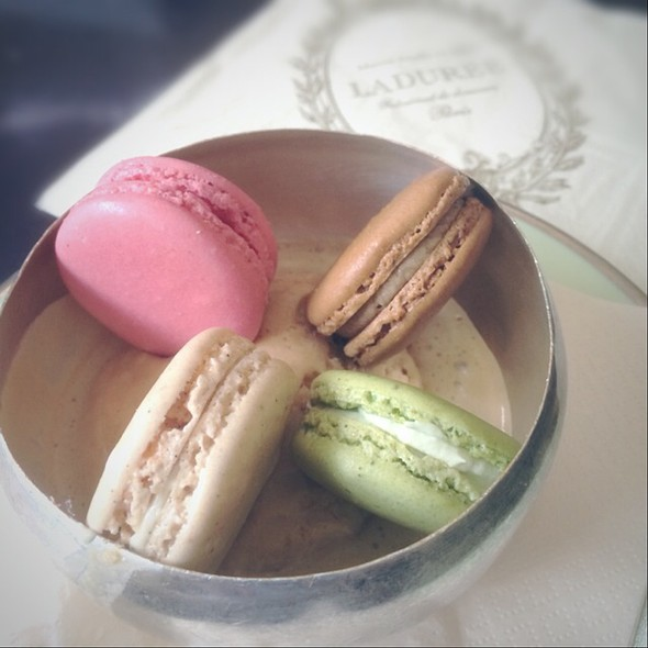 Strawberry Candy & Raspberry & Pistachio Macarons