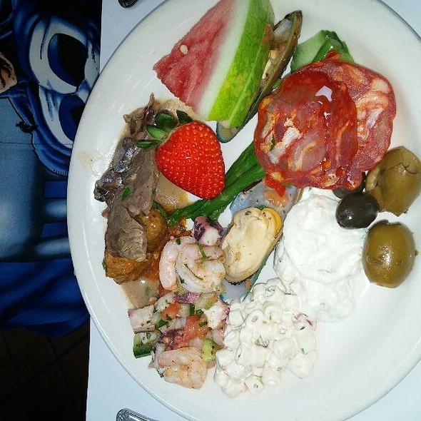 Buffet At Patio Espanol Restaurant