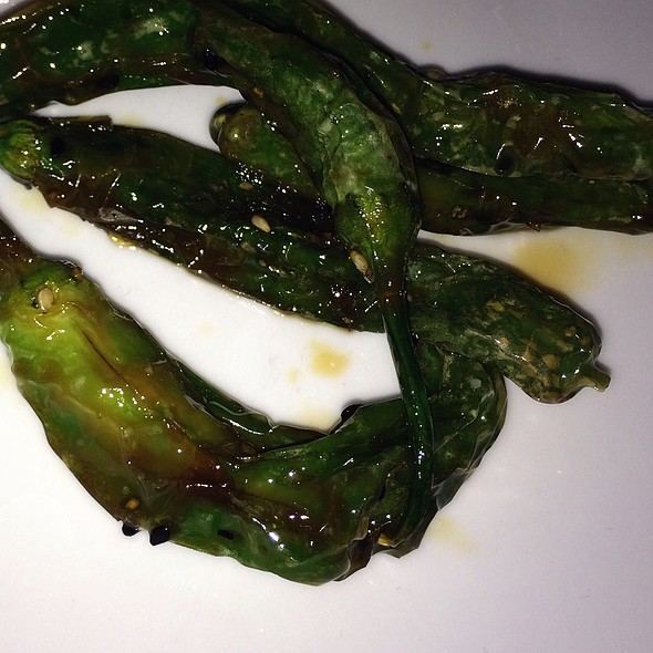 Roasted Shishito Peppers With Yuzu