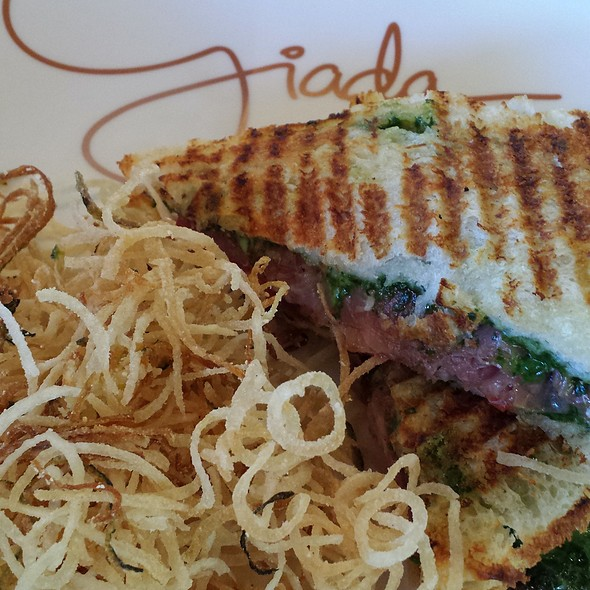 Grilled Cheese Sandwich @ Giada