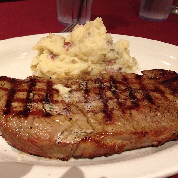New York Steak - Rudy's Hideaway, Rancho Cordova, CA
