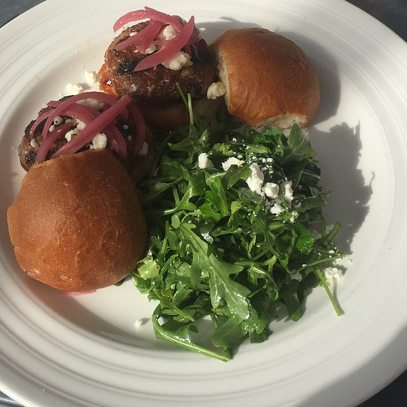 Lamb Sliders @ Farmstead at Long Meadow Ranch