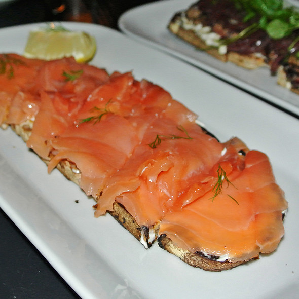 Organic Smoked Salmon Tartine - Tartinery, New York, NY