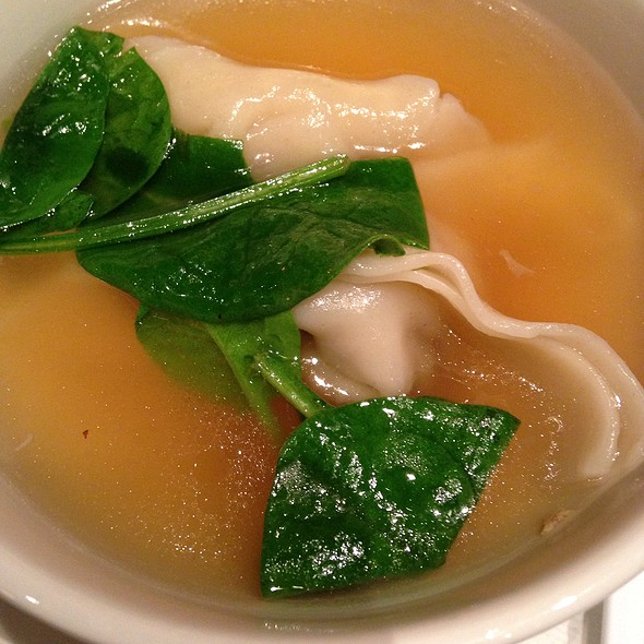 Wonton Soup @ P.F. Chang's China Bistro