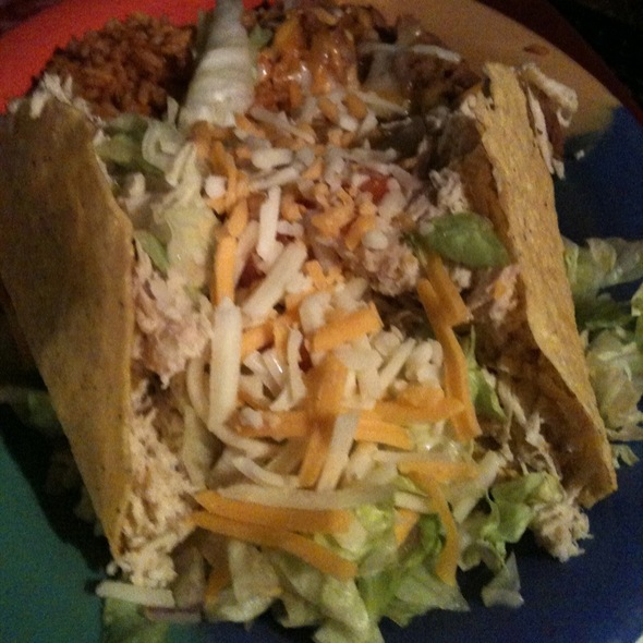 Dos Chicken Tacos @ Vip Lounge & Mexican Restaurant