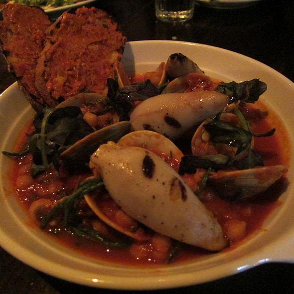 Stuffed Squid @ Supply And Demand