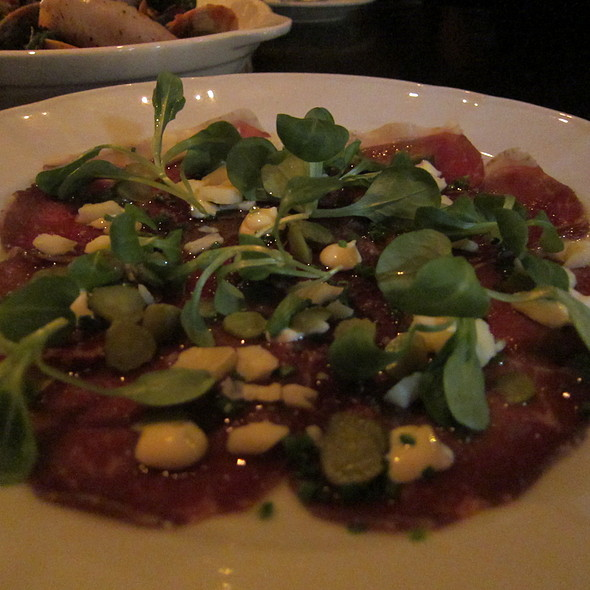 Beef Carpaccio @ Supply And Demand
