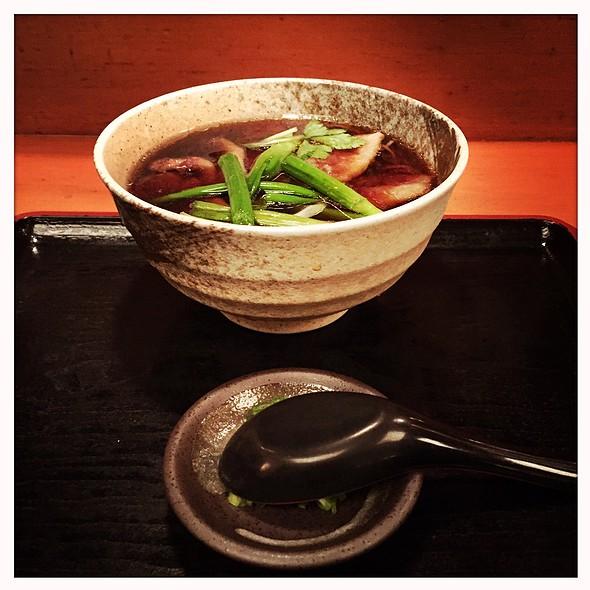 Kamo Namban (Duck And Green Onion With Udon) @ Sobaya 蕎麦屋