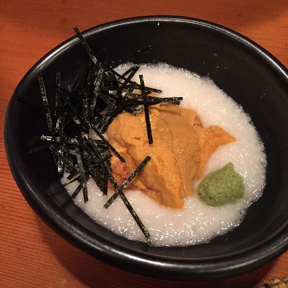 Uni Tororo  @ Sobaya 蕎麦屋