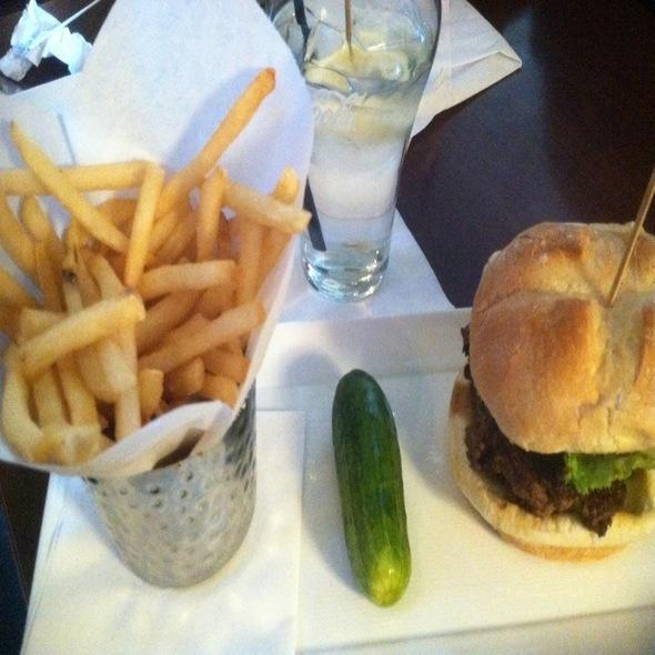 Baja Burger @ Plan B Burger Bar & Tavern