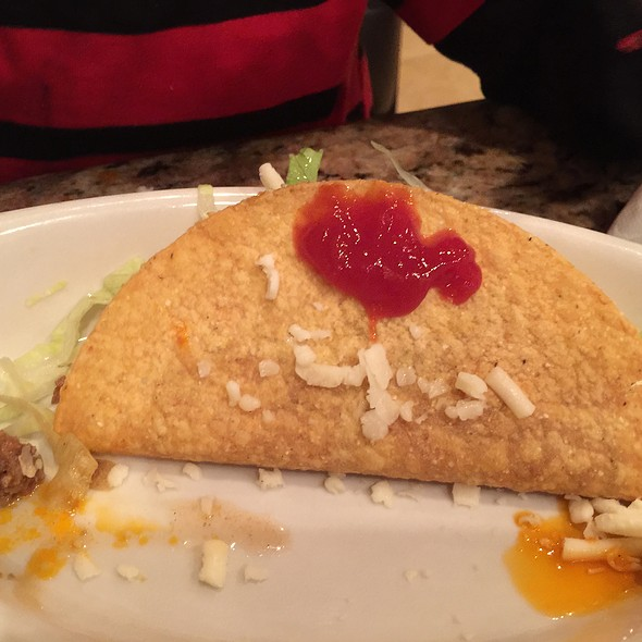 Taco With Ketchup