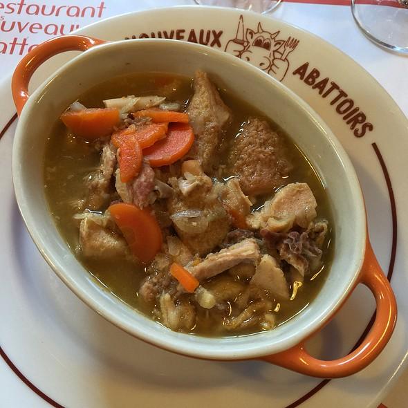 Tripes Caen Style @ Restaurant Des Nouveaux Abattoirs