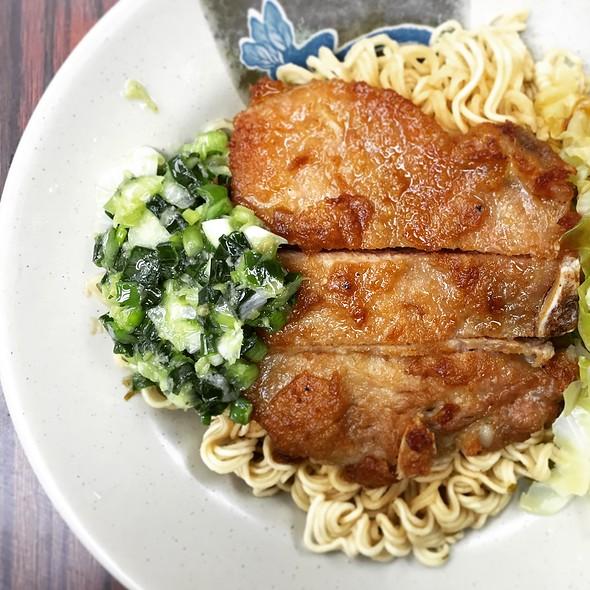 Porkchop With Instant Noodles @ 蘭芳園