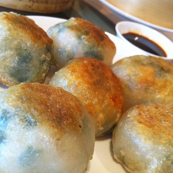 Pan-Fried Chive And Shrimp Dumplings @ Chinese Cuisine At Crowne Plaza Bkk Lumpini