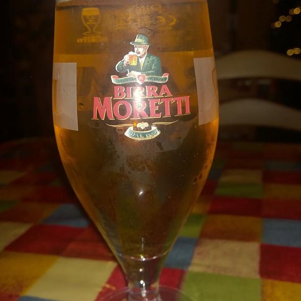 Birra Moretti @ Farmhouse Grill